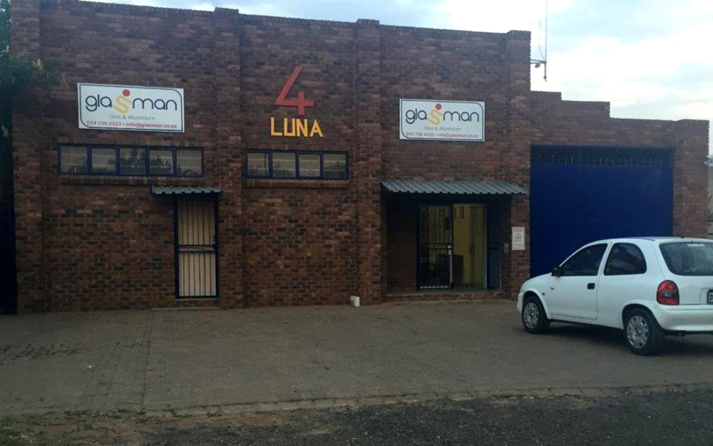 Existing Glasman Warehouse